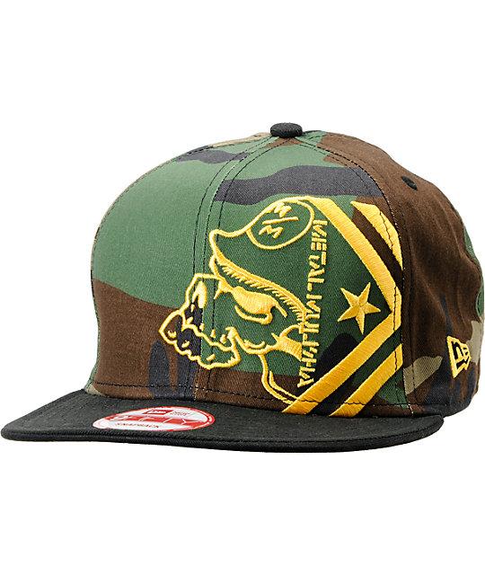 Metal Mulisha Re O Black New Era Snapback Hat Zumiez 696e5817435b