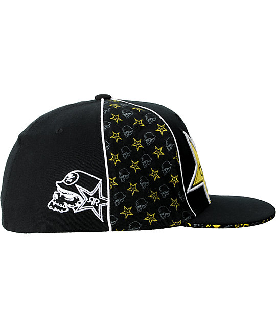 Metal Mulisha Rockstar Team 2 Black Hat
