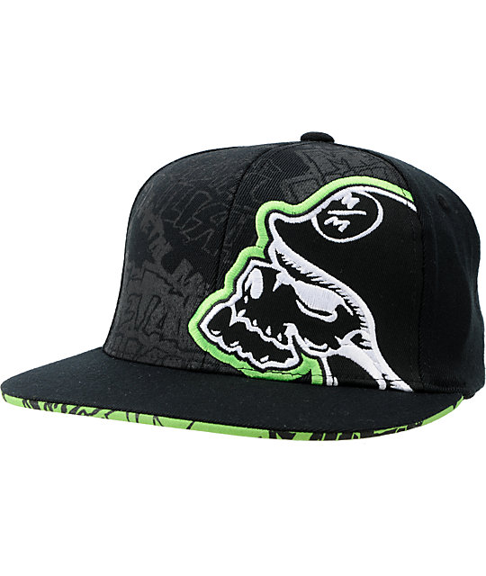 Metal Mulisha Scrap Black Flexfit Hat
