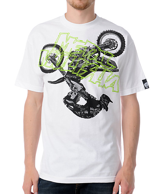 Metal Mulisha Stunt White T-Shirt