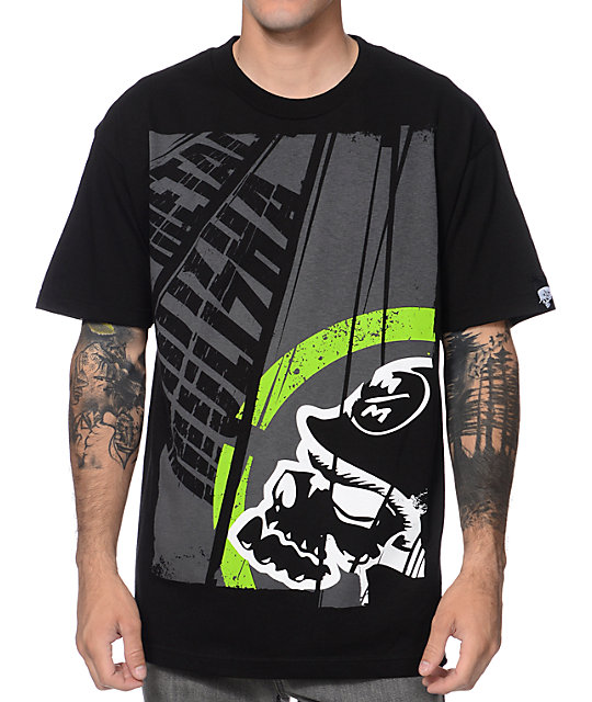 Metal Mulisha Title Black T-Shirt