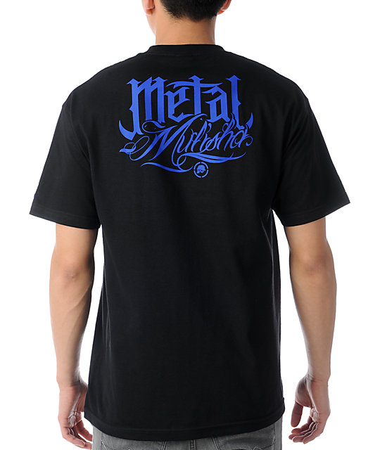 Metal Mulisha x Hydro74 Priest Black T-Shirt