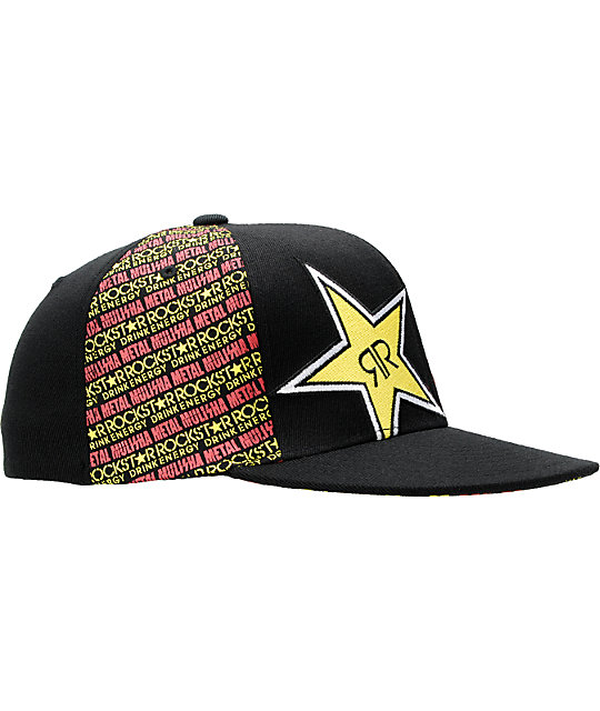 Metal Mulisha x Rockstar Front Face Hat