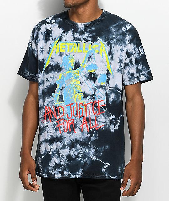 Metallica T-shirt Justice For All Original Men/'s Black