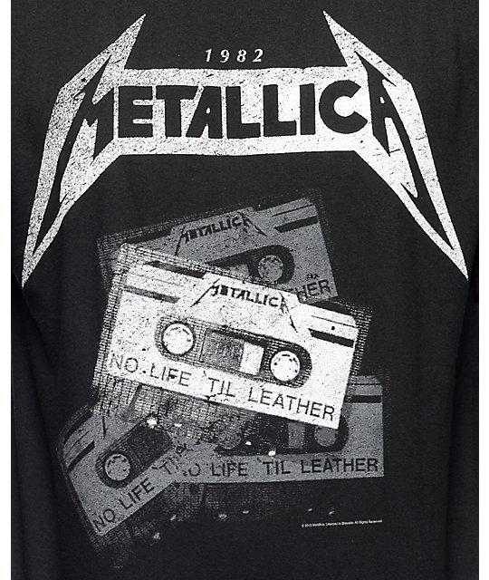 5f82f9195 Metallica Tour Vintage Black T-Shirt | Zumiez