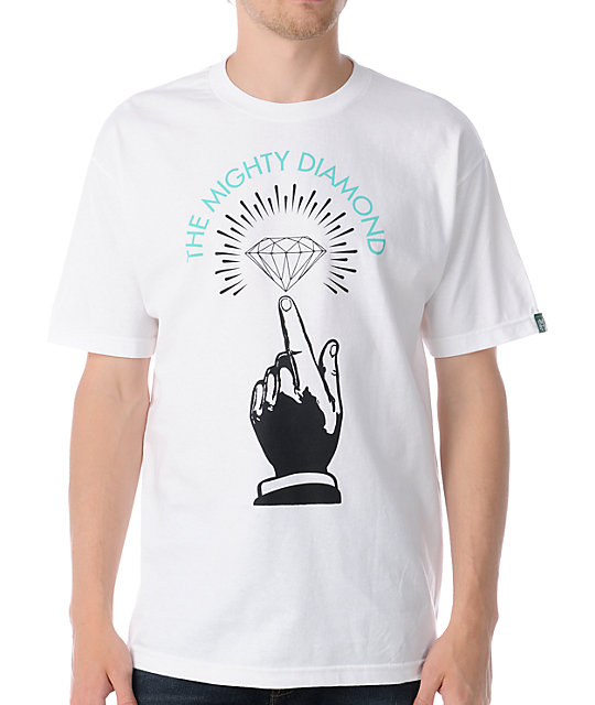Mighty Healthy x Diamond Numero Uno White T-Shirt