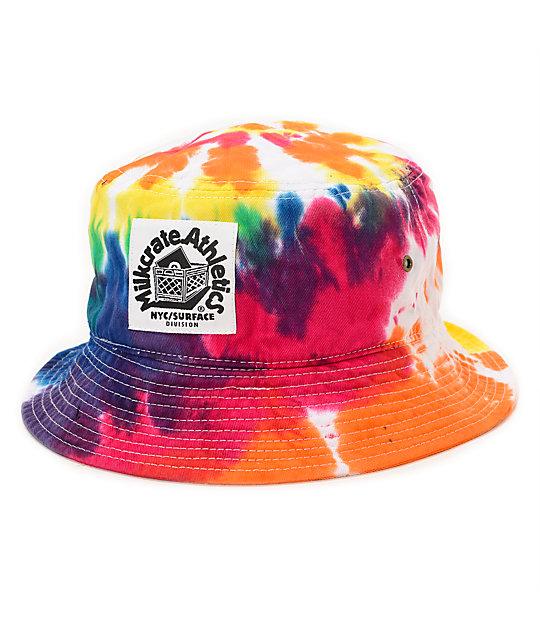 b49ccf7e8e4 Milkcrate Classic Tie Dye Bucket Hat