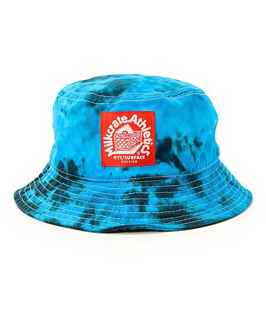 Milkcrate Electric Tie Dye Bucket Hat  7369de9468e