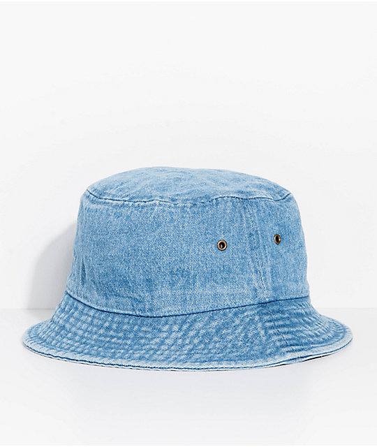 Milkcrate Light Blue Denim Bucket Hat