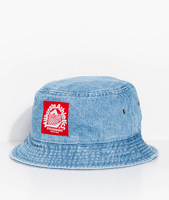 9c8f5dd3f0 Milkcrate Light Blue Denim Bucket Hat