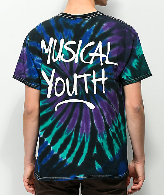Milkcrate Musical Youth Aqua Tie Dye T-Shirt