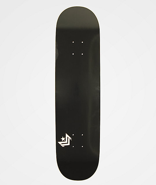 Mini Logo Black Chevron 825 Skateboard Deck Zumiez