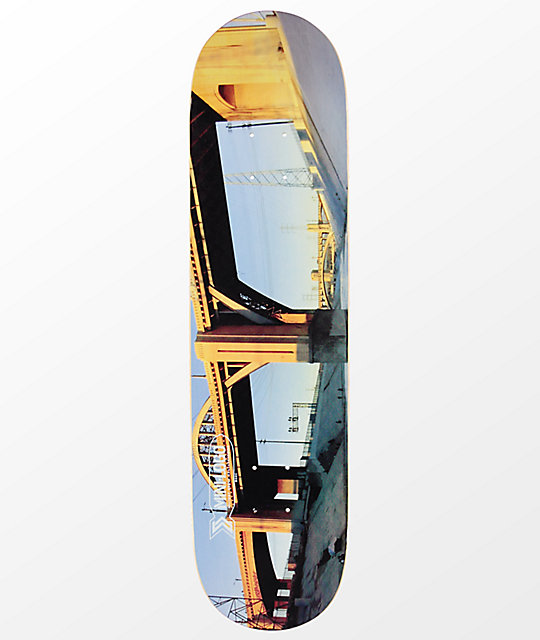 Mini Logo Los Angeles 80 Skateboard Deck Zumiez
