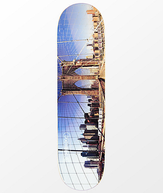Mini Logo New York 80 Skateboard Deck Zumiez