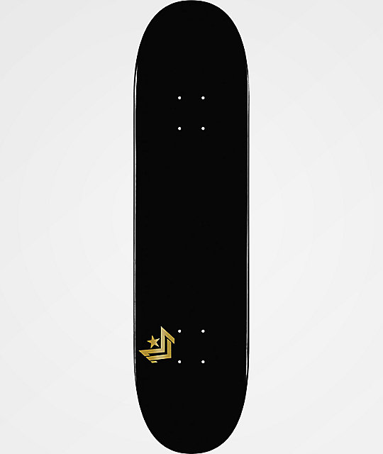 Mini Logo Small Bomb Black 775 Skateboard Deck Zumiezca