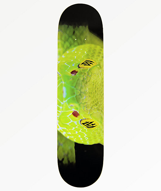 Mini Logo Snake Eyes 80 Skateboard Deck Zumiez