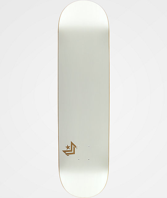 "Mini Logo White Chevron 8.5"" Skateboard Deck"