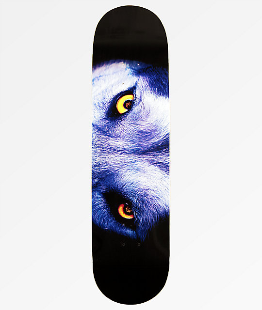 Mini Logo Wolf Eyes 85 Skateboard Deck Zumiez