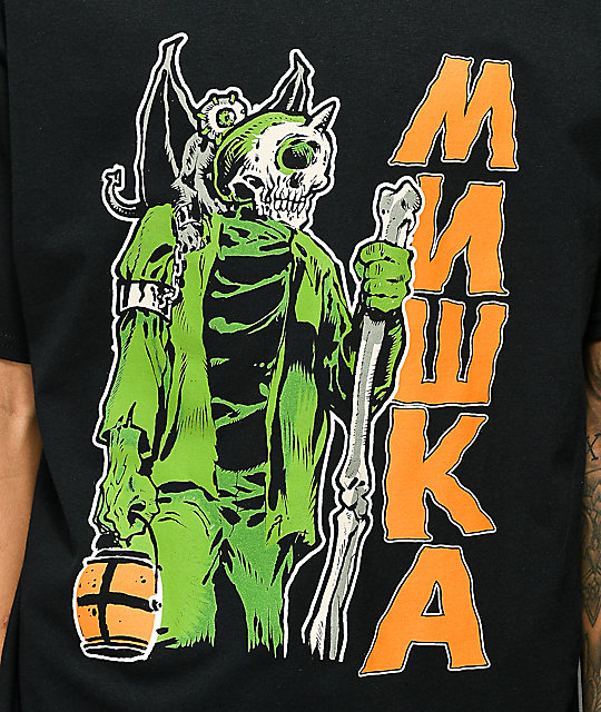 Mishka Gatekeeper Black T-Shirt