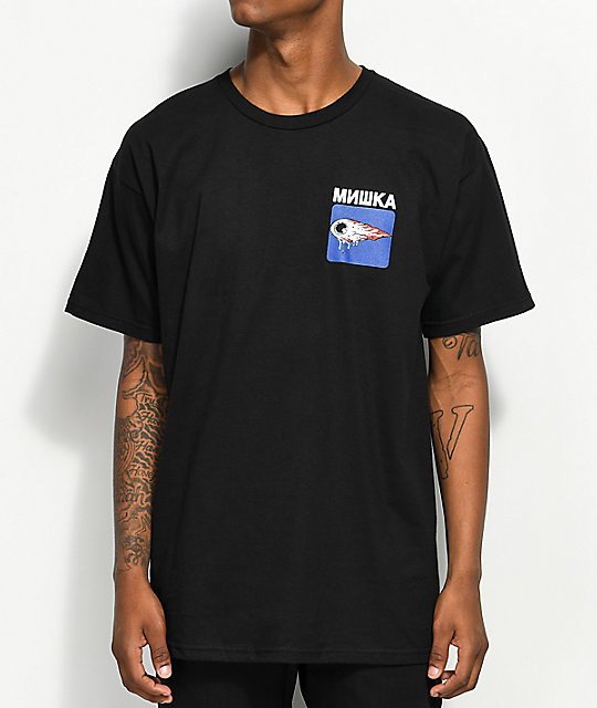 Mishka Neighbor Watch Black T-Shirt