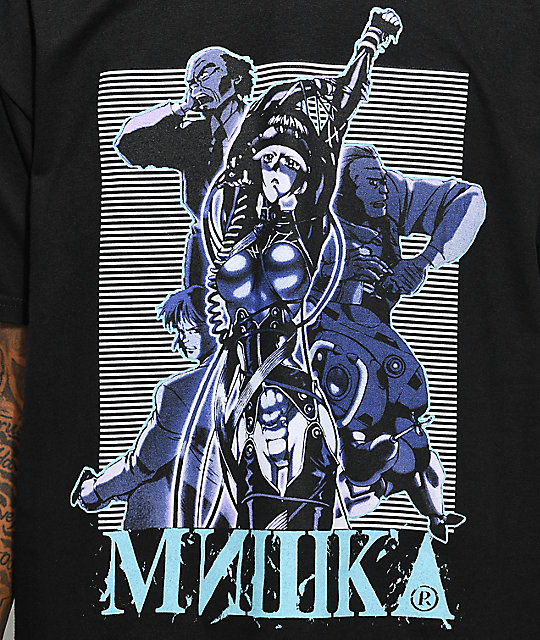 Mishka Stand Alone Black T-Shirt