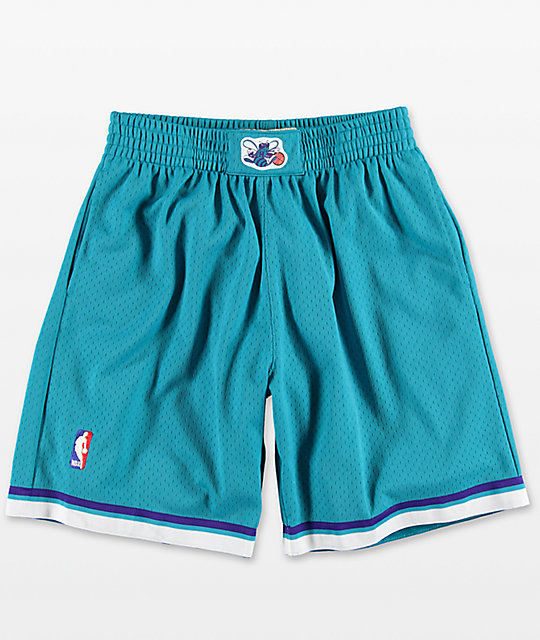 Mitchell & Ness Hornets Swingman Shorts