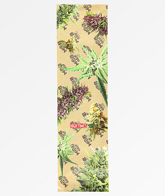 Mob Grip x High Times Multi Bud Clear Grip Tape