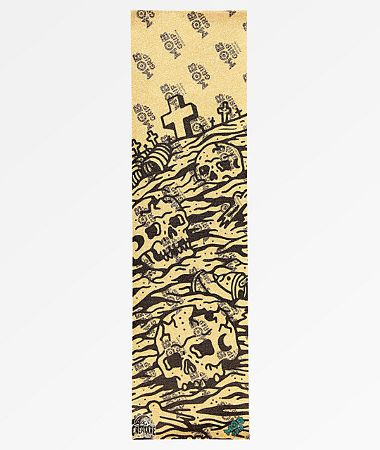 Mob Grip x Sketchy Tank Graveyard Clear Grip Tape