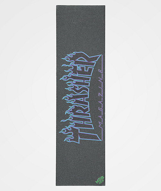 Mob Grip x Thrasher Flames Grip Tape