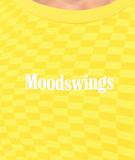 Moodswings Chess Checkered camiseta amarilla