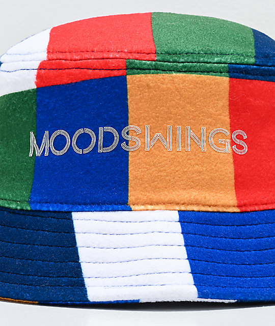 Moodswings Patchwork Multicolored Bucket Hat