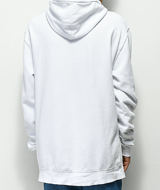 Moodswings Youth White Hoodie
