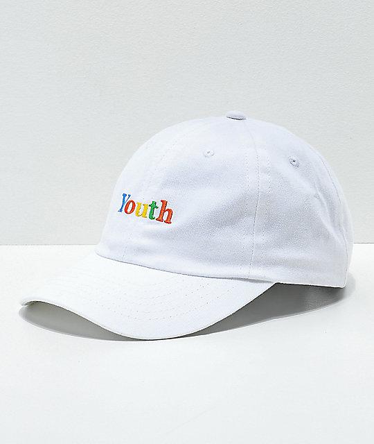Moodswings youth white strapback hat zumiez jpg 540x640 Zumiez hats 0e0269eacb5d
