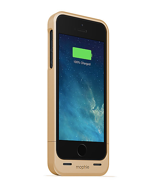 Mophie Juice Pack Air Gold iPhone 5 Case