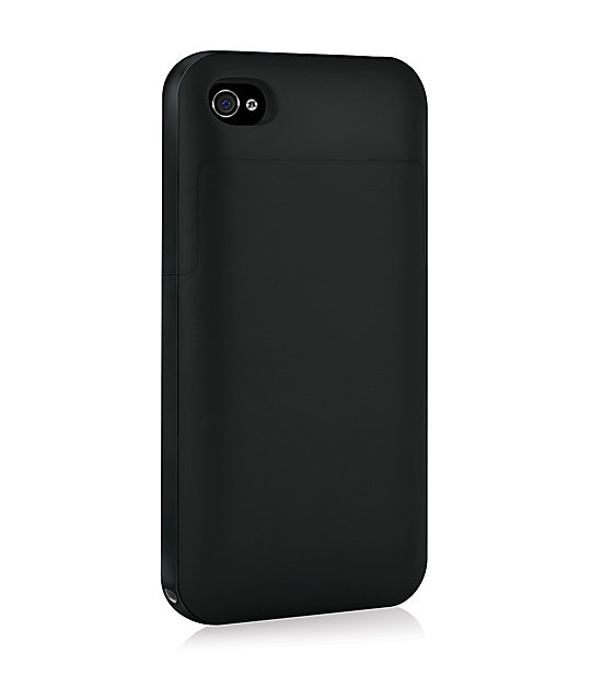 Mophie Juice Pack Plus iPhone 4 & 4s Black Charge Case