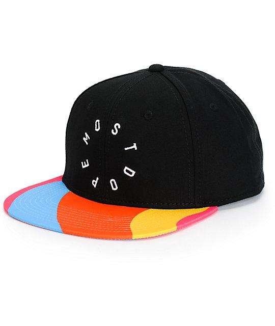 Most Dope Multicolor Pop Bill Snapback Hat  0cd0b0359df