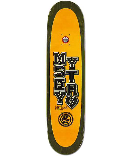 "Mystery James Varsity P2 7.75""  Skateboard Deck"