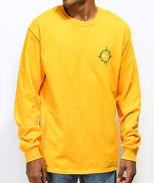 N°Hours All Hours Gold Long Sleeve T-Shirt
