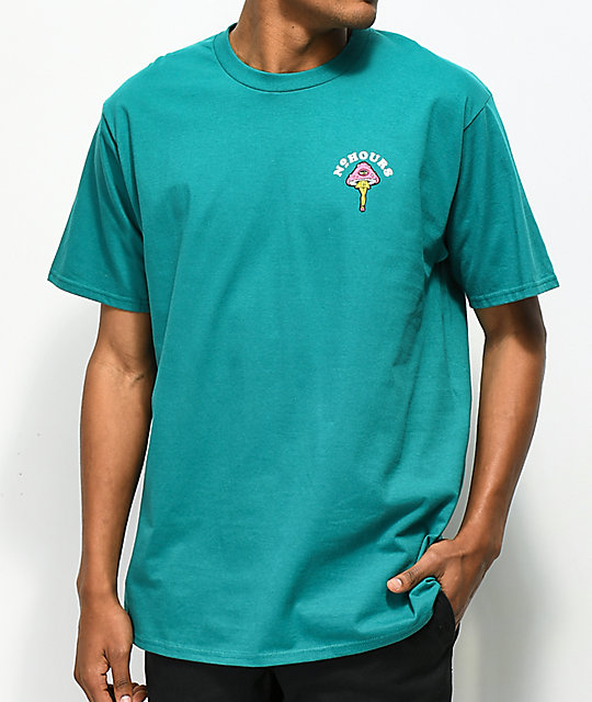 N°Hours Mental Vaycay  Teal T-Shirt