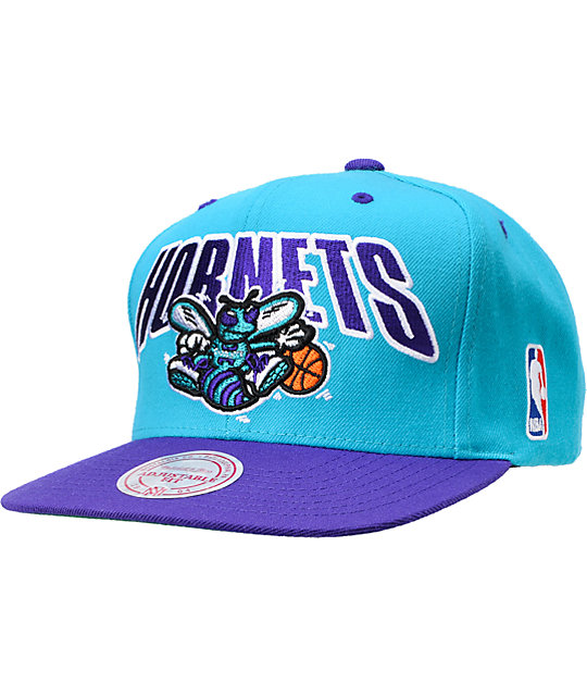 NBA Mitchell and Ness Charlotte Hornets Snapback Hat  3231117cb3a