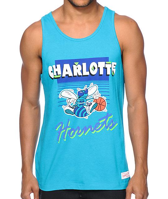 179e57a5e4d9e0 NBA Mitchell and Ness Charlotte Hornets Tank Top