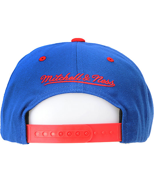 NBA Mitchell and Ness Denver Nuggets Arch Snapback Hat