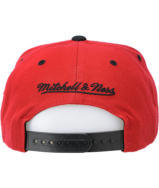 NBA Mitchell and Ness Heat Flashback Snapback Hat