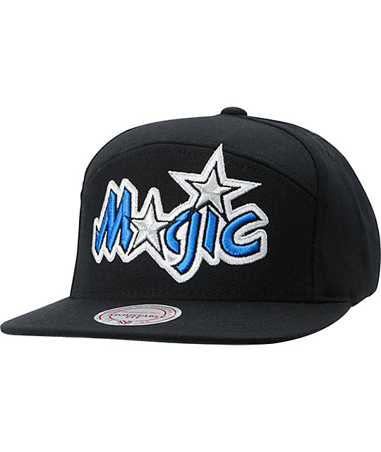 huge selection of e13cb b7683 NBA Mitchell and Ness Horizontal Orlando Magic Snapback Hat   Zumiez
