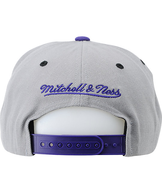 NBA Mitchell and Ness Hornets Arch Underbill Snapback Hat