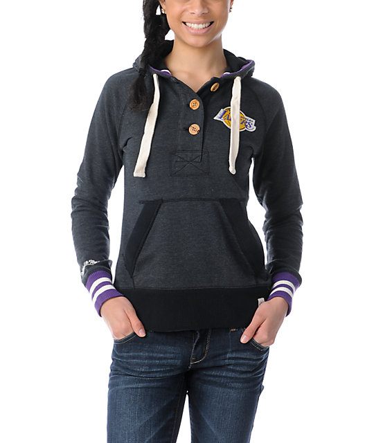 NBA Mitchell and Ness LA Lakers Victory Pullover Hoodie