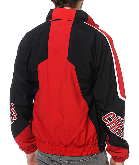 NBA Mitchell and Ness Midseason Chicago Bulls Windbreaker