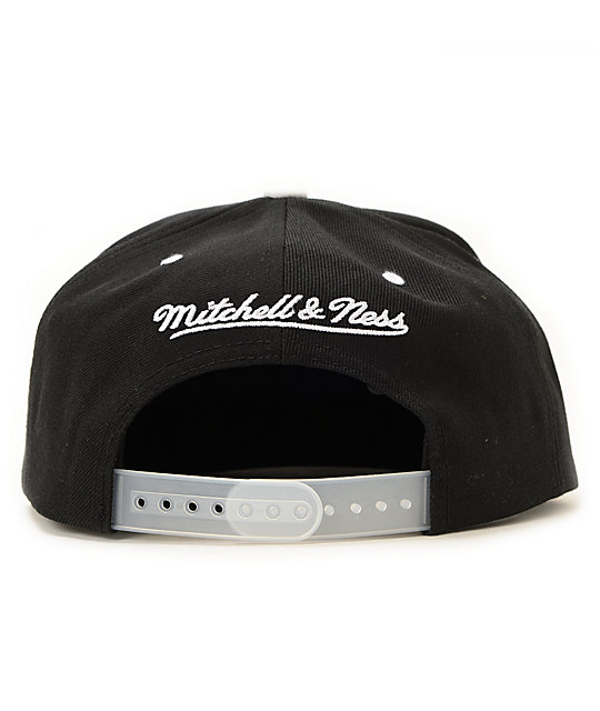 NBA Mitchell and Ness Nets XL Reflective Snapback Hat