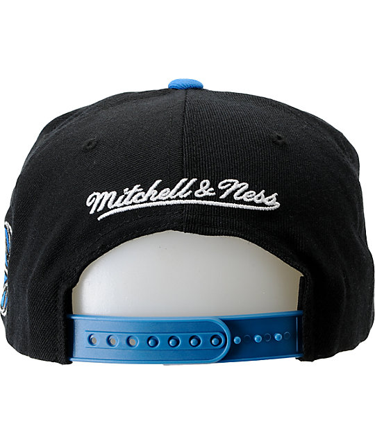 NBA Mitchell and Ness Orlando Magic Media Day Snapback Hat