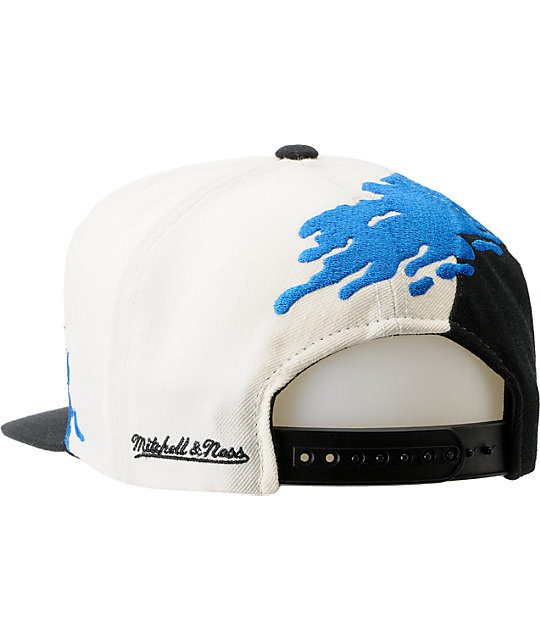 NBA Mitchell and Ness Orlando Magic Paintbrush Snapback Hat